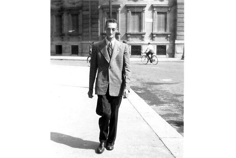 Джорджо Щербаненко у віці 27 років, 1938 рік