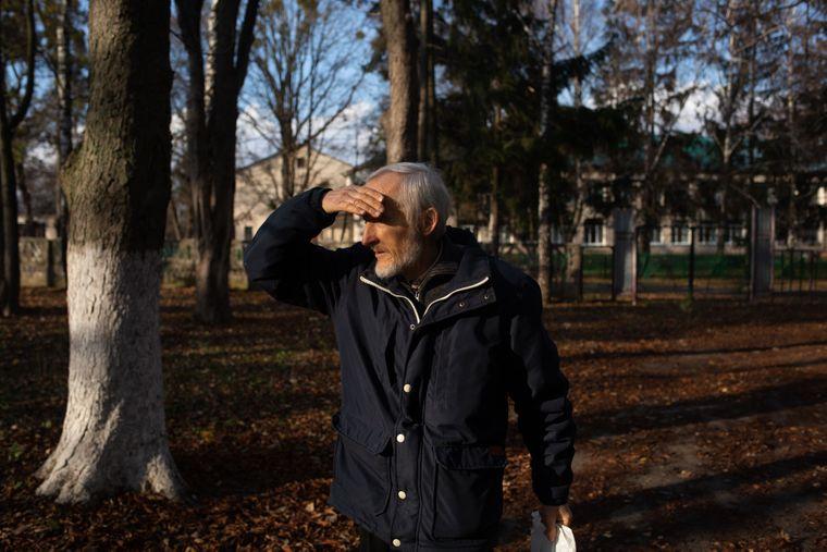 Місцевий краєзнавець Юрій Дудник розповідає про роки Голодомору в Дзензелівці, Черкаська область, 11 листопада 2019 року