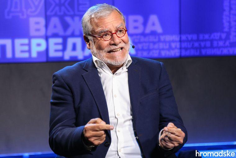 Бывший спецпрокурор Перу, экс-глава правления Transparency International Хосе Карлос Угас, Киев, 30 октября 2019 года