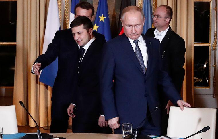 Завершилась встреча «Нормандской четверки» и начались переговоры Зеленского  с Путиным | Громадское телевидение | Громадское телевидение