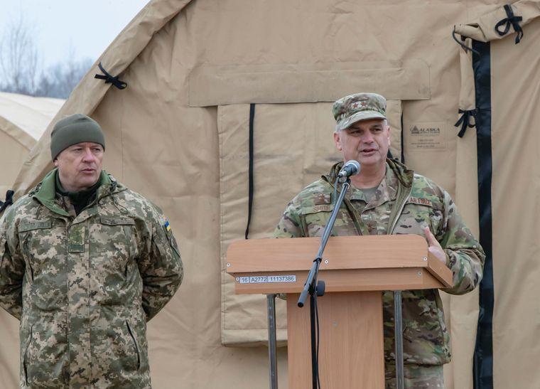 командир Європейського командування Сил спеціальних операцій США генерал-майор Кірк Сміт