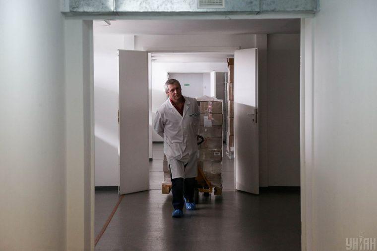 Партія медикаментів для лікування онкологічних захворювань прибула на склад держпідприємства «Укрмедпостач» в Києві, архівне фото