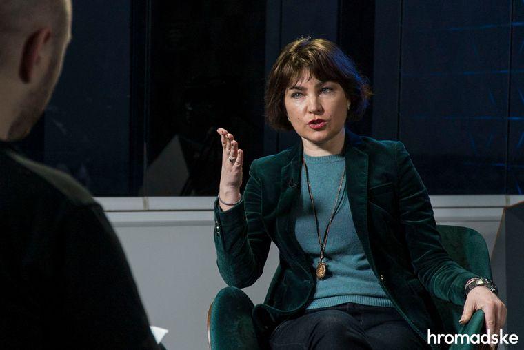 Генеральна прокурорка України Ірина Венедіктова в студії hromadske, Київ, 30 квітня 2020 року