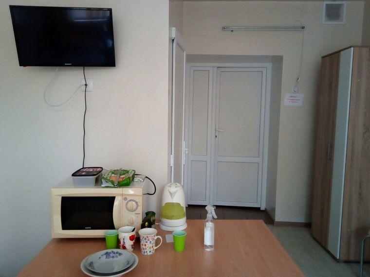 У кімнаті відпочинку можна також і перекусити чи випити чаю