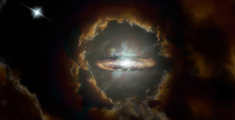 Астрономи знайшли найдавнішу спіральну галактику,що утворилась через 1,5 млрд років після Великого вибуху