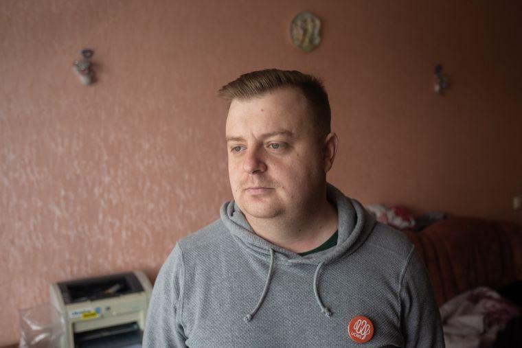 Зараз Дмитро Поліщук один з найактивніших борців за права людей з розсіяним склерозом у Києві