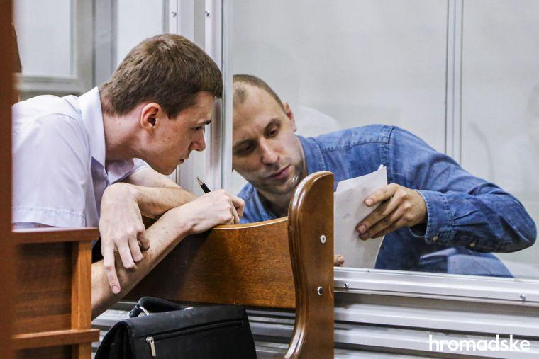 Андрей Кунавин в Шевченковском суде Киева