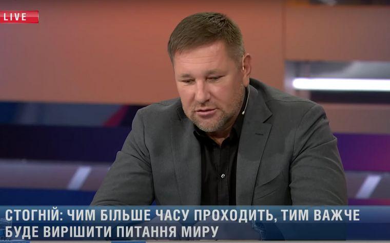 Український журналіст Костянтин Стогній в етері медіапроєкту «Люди» на 112 каналі