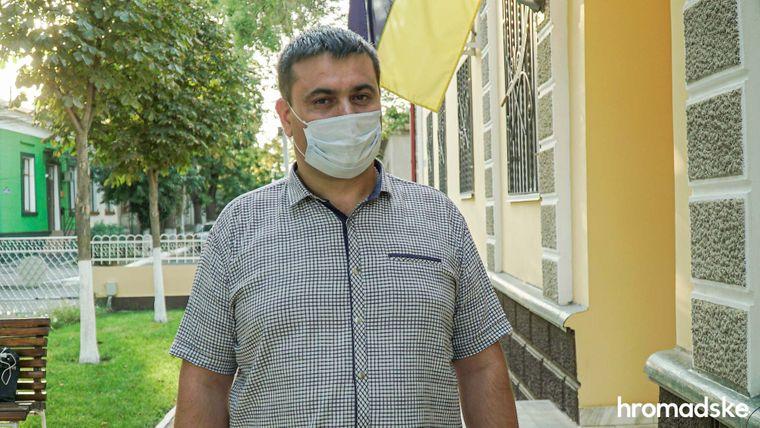 Руслан Русанжик исполняющий обязанности руководителя прокуратуры Измаила