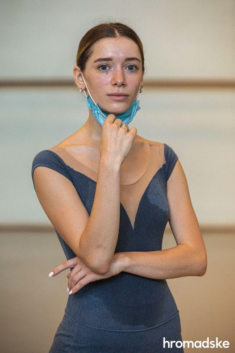 Роксоляна Іскра, артистка балету Львівської національної опеери