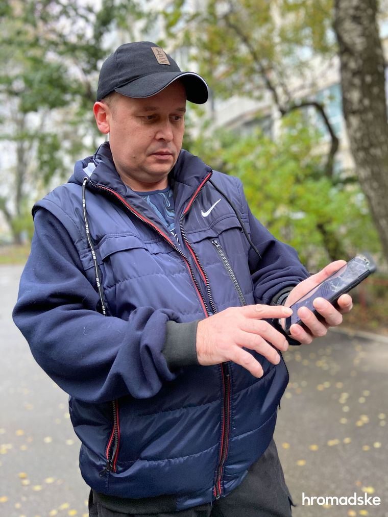Вадим Середа розповідає про напад собаки, яка пошкодила йому руку