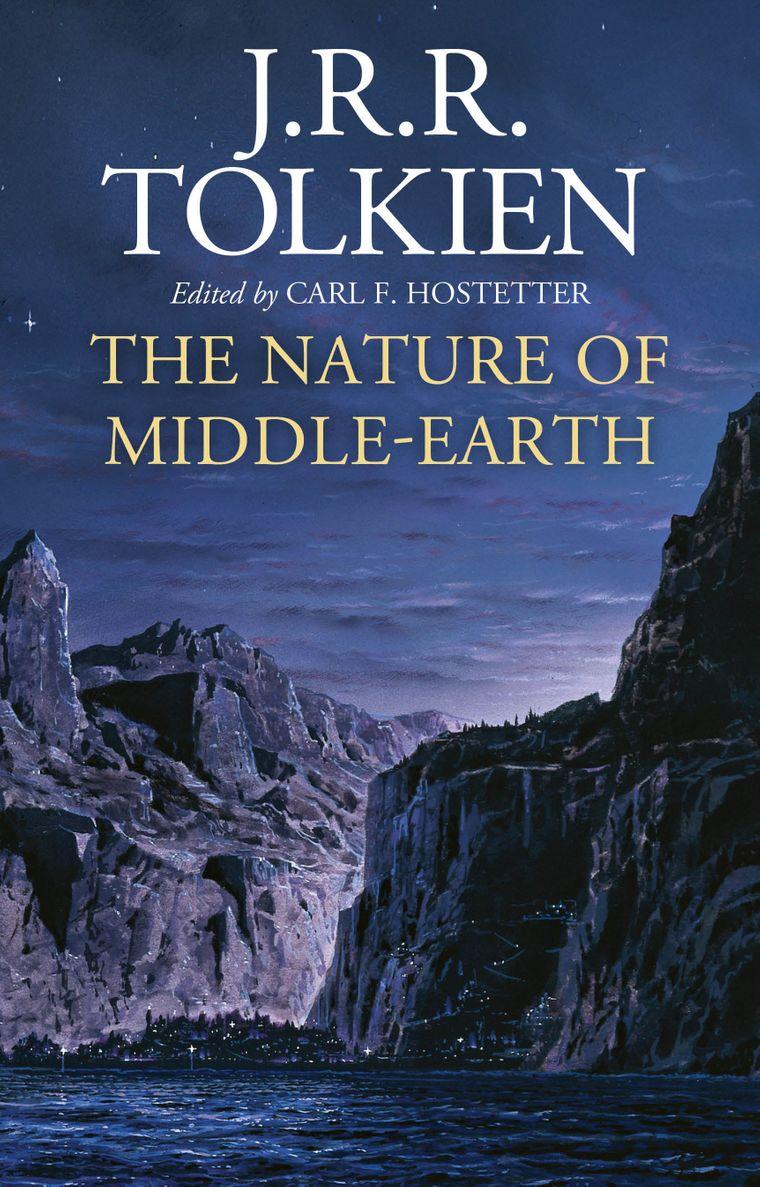 Обкладинка збірника раніше неопублікованих робіт фантаста Джона Толкіна «Природа Середзем'я»