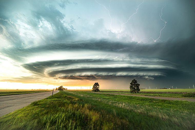 «Неймовірна суперкомірка в Колорадо». Барлінгтон, США