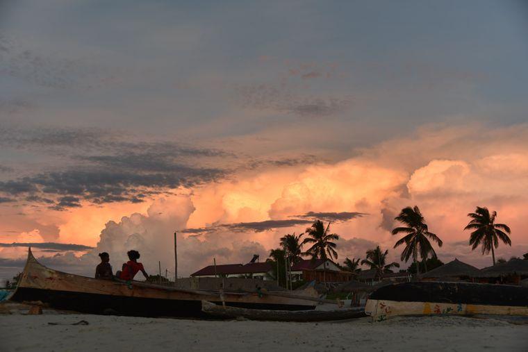 «Сезон дощів на Мадагаскарі». Морондава, Мадагаскар