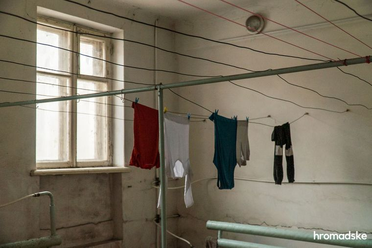 Общежитие в Кривом Роге, в котором живут Вера и Дима