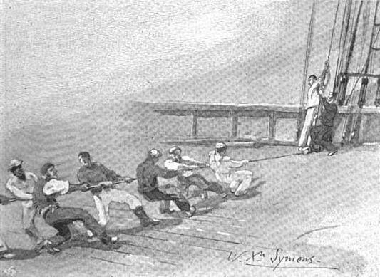Шанті виконували моряки на суднах, щоб задати робочий ритм
