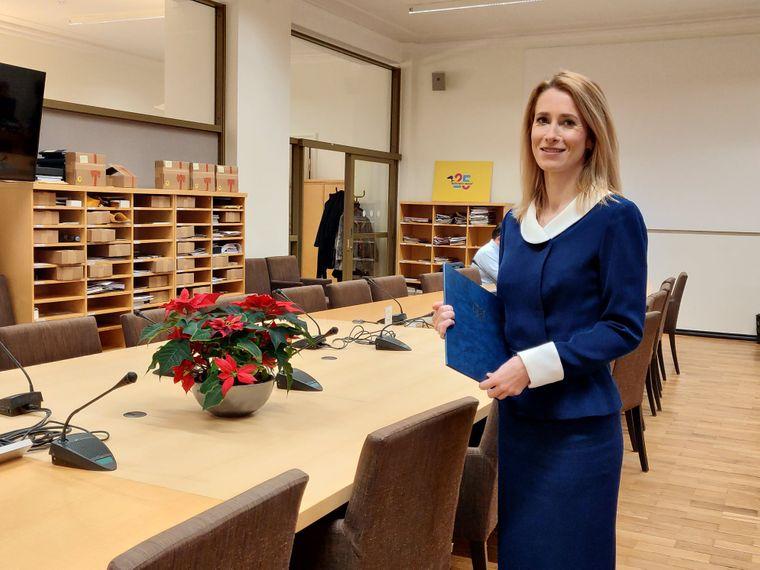 Новая премьер-министр Эстонии Кая Каллас