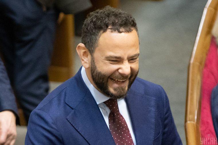 Народний депутат Олександр Дубінський під час засідання Верховної Ради України, Київ, 26 січня 2021 року
