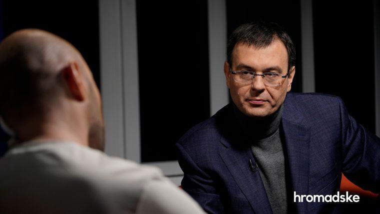 Народний депутат від «Слуги Народу», голова парламентського комітету з питань фінансів, податкової та митної політики Данило Гетманцев у студії hromadske, Київ, 10 лютого 2021 року