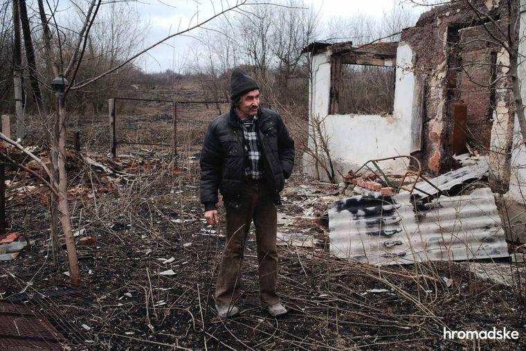 Володимир Олексійович — один із десяти жителів села Новоолександрівка