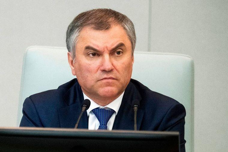 Спікер Державної Думи Російської Федерації В'ячеслав Володін