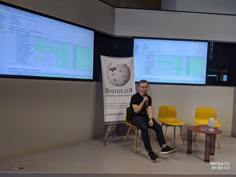 Антон Процюк розповідає про роботу над Вікіпедією в офісі Wikimedia Ukraine