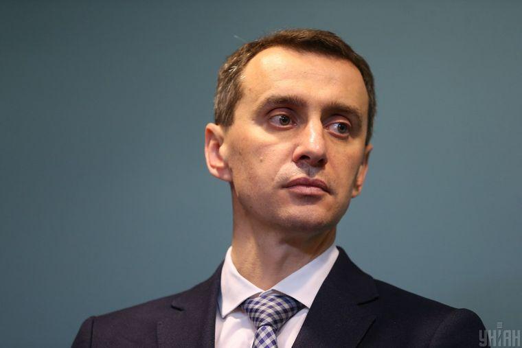 Заступник міністра охорони здоров'я Віктор Ляшко під час брифінгу за результатами засідання РНБО, в Києві, 13 березня 2020 року.