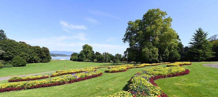 Парк Ла Гранж у Женеві, де відбудеться саміт президентів США та Росії Джо Байдена і Володимира Путіна