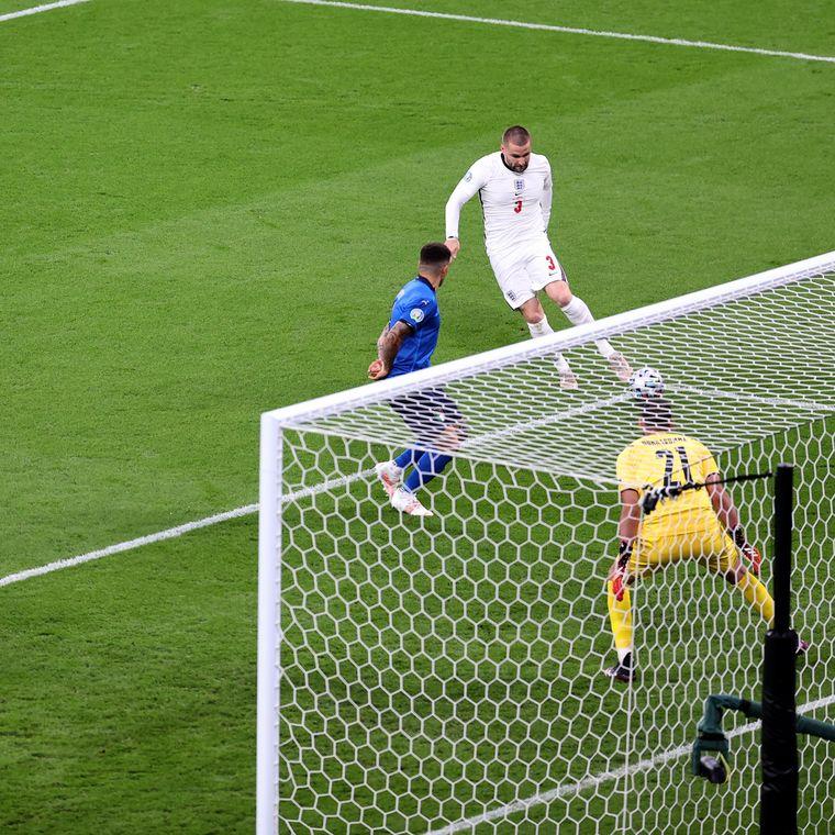 Люк Шоу забиває найшвидший гол у фіналі Євро