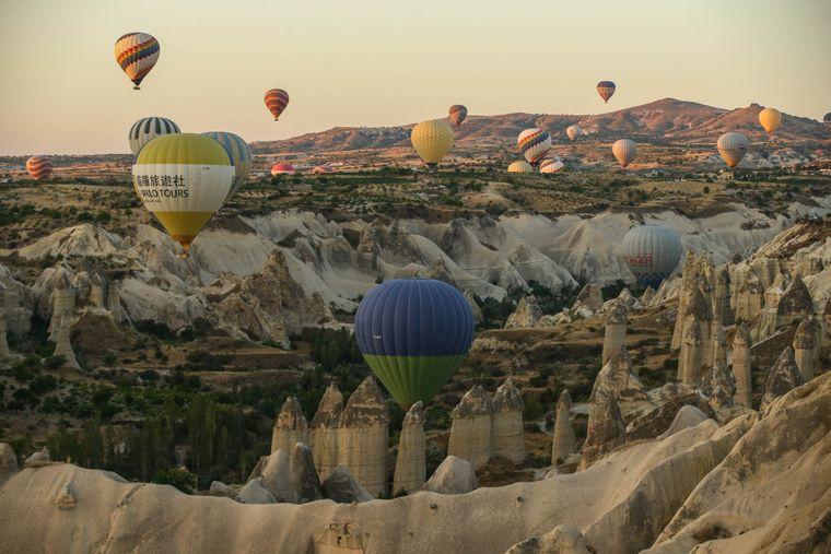 Фестиваль повітряних куль у Каппадокії, центральна Туреччина, 7 серпня 2018 року.