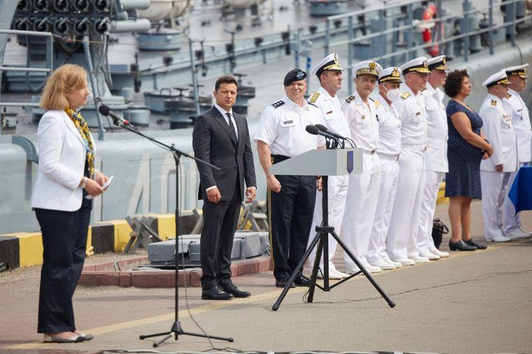 Зеленский заявил о задачах построить «большой флот» до 2035 года. Первые  результаты обещает через пять дней | Громадское телевидение | Громадское  телевидение