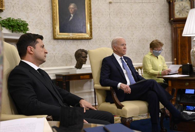 Байден і Зеленський завершили перемовини, Україна та США оприлюднили  спільну заяву щодо подальшого партнерства | Громадське телебачення