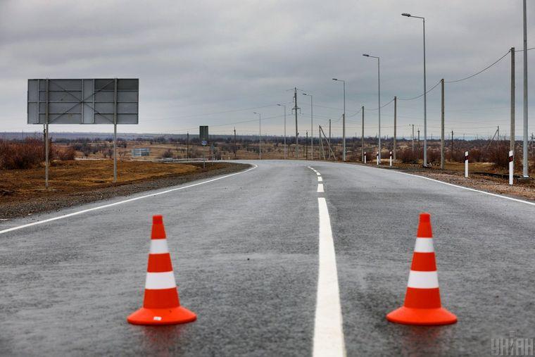 Відремонтована дорога М15 Одеса-Рені, в Одеській області