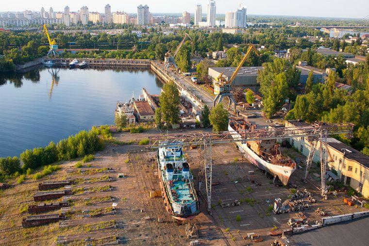 Завод «Кузня на Рибальському» у Києві