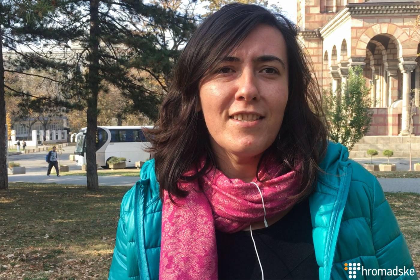 Громадська активістка Ясміна Лазовіч, Белград, Сербія, 25 жовтня 2018 року