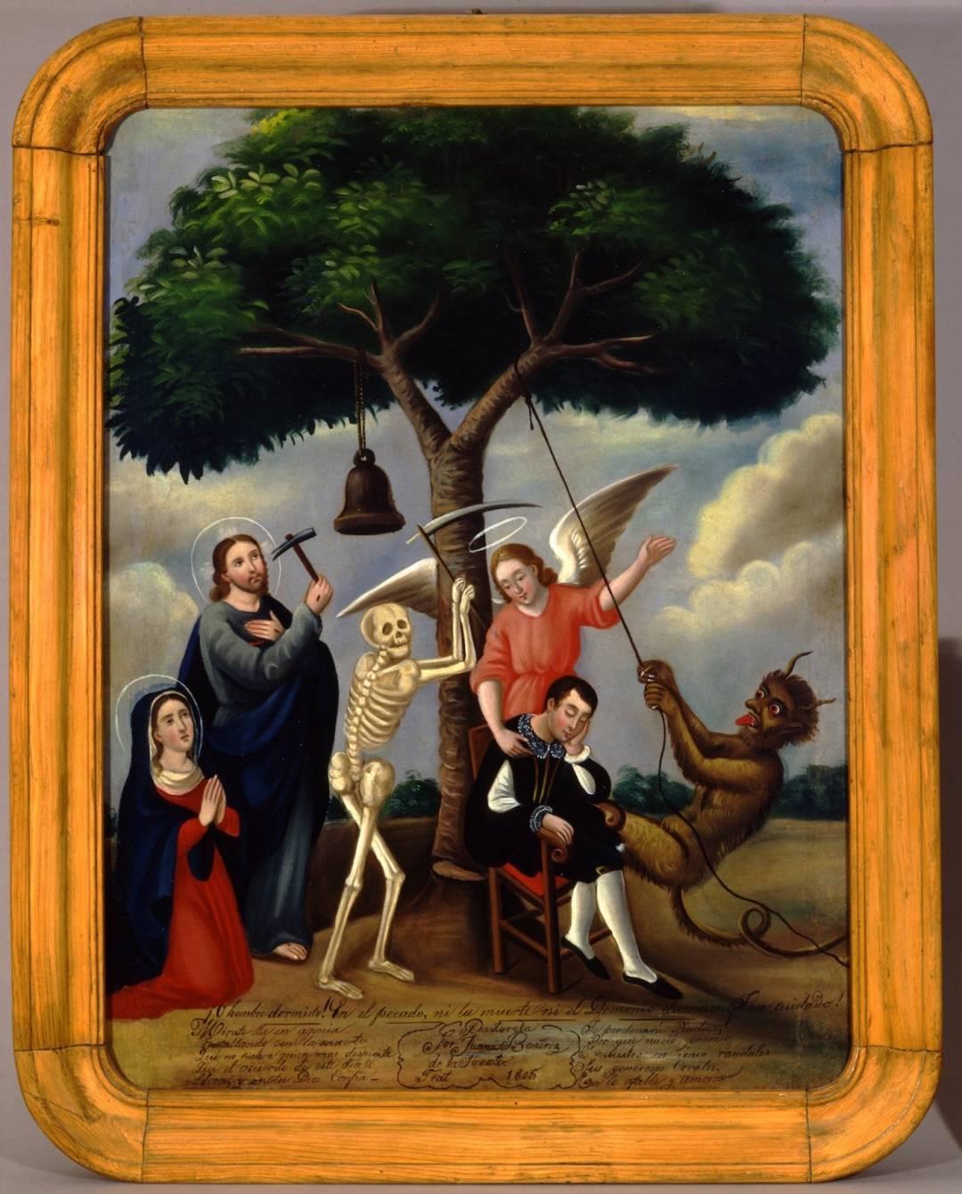 Картина «Древо життя» Хуани Беатріс де ла Фуенте