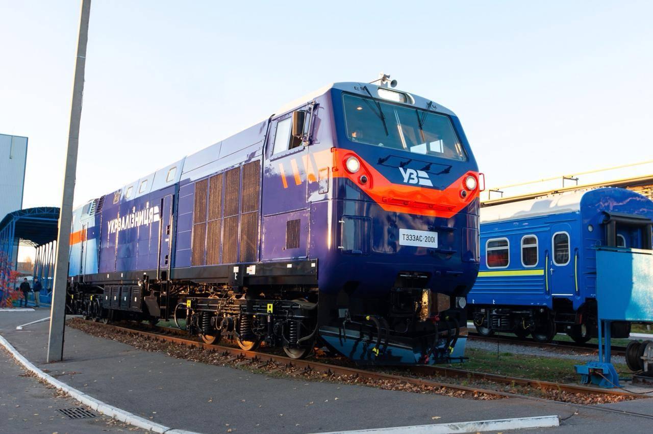 Перший локомотив General Electric вийде наукраїнські колії 8 листопада— Укрзалізниця