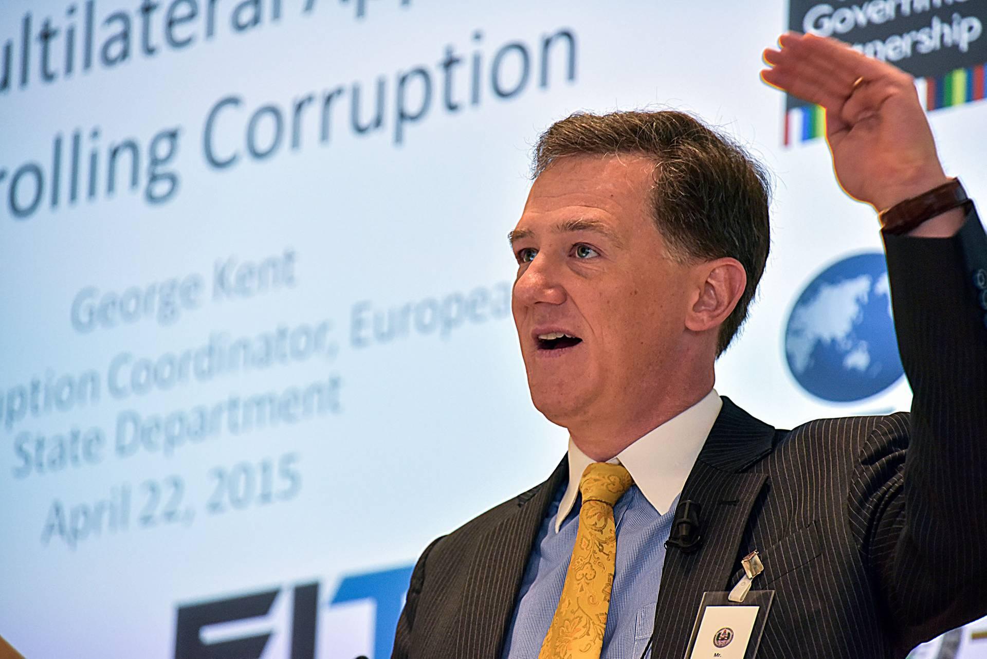 Заместитель помощника Госсекретаря США по вопросам Европы и Евразии Джордж Кент, Германия, 22 апреля 2015