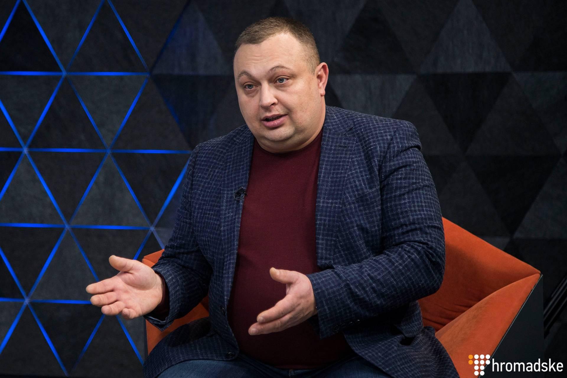 Директор соціологічної групи Рейтинг Олексій Антипович в студії Громадського, Київ, 17 січня 2019 року