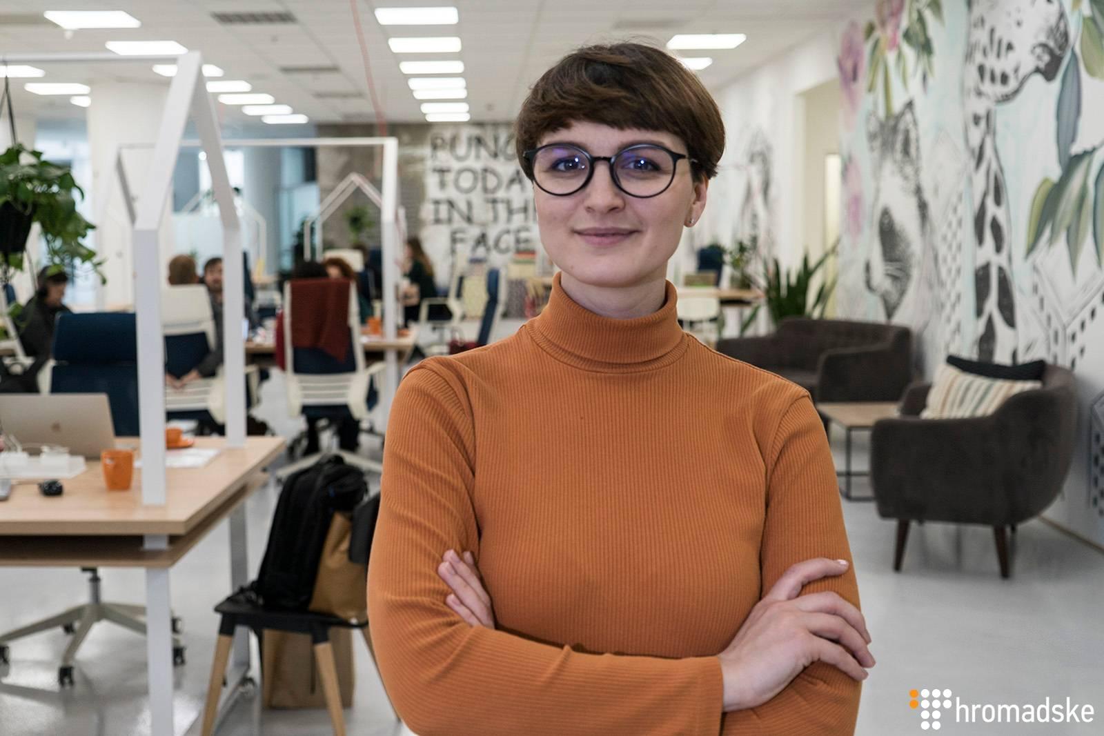 Співзасновниця платформи Sustainable Fashion Pad Олеся Вершигора, Київ, 14 січня 2019 року