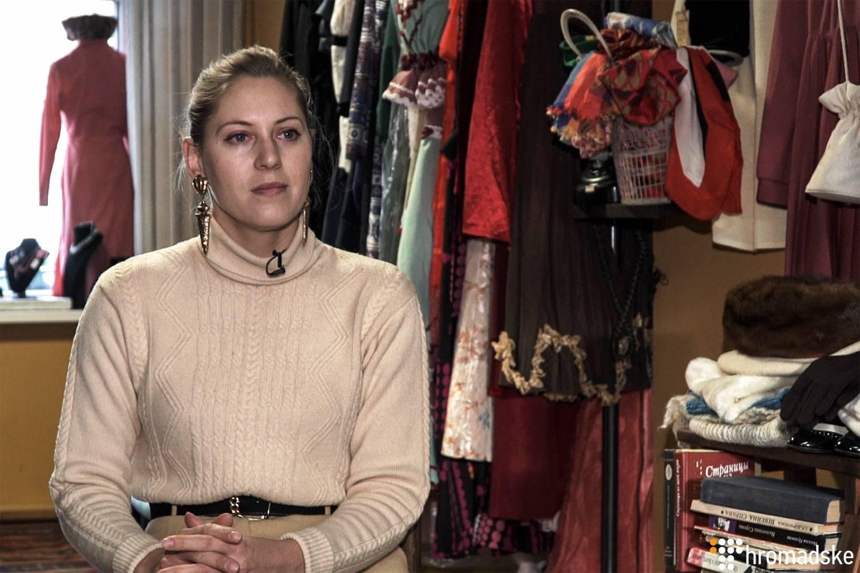 Власниця магазину вінтажних речей у Києві Ніка Федорінчик, Київ, 16 січня 2019 року