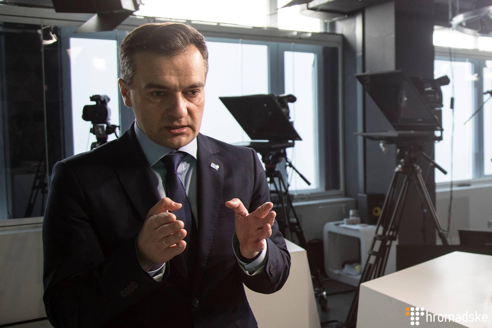 Колишній журналіст-розслідувач, кандидат у президенти Дмитро Гнап, Київ, 23 січня 2019 року
