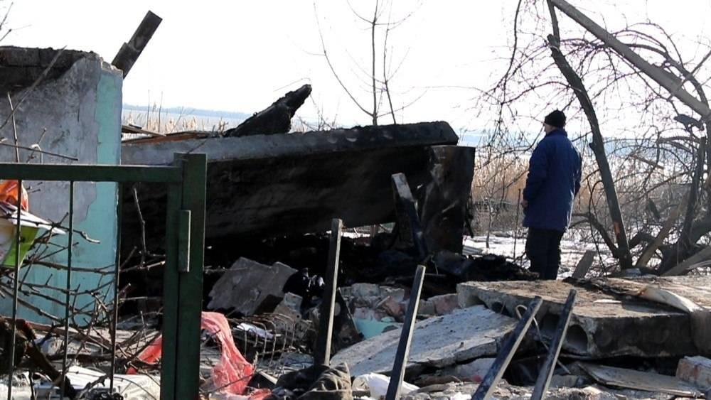 Власник, зруйнуваного унаслідок попадання снаряду будинку, Віктор Миколайович Фролов