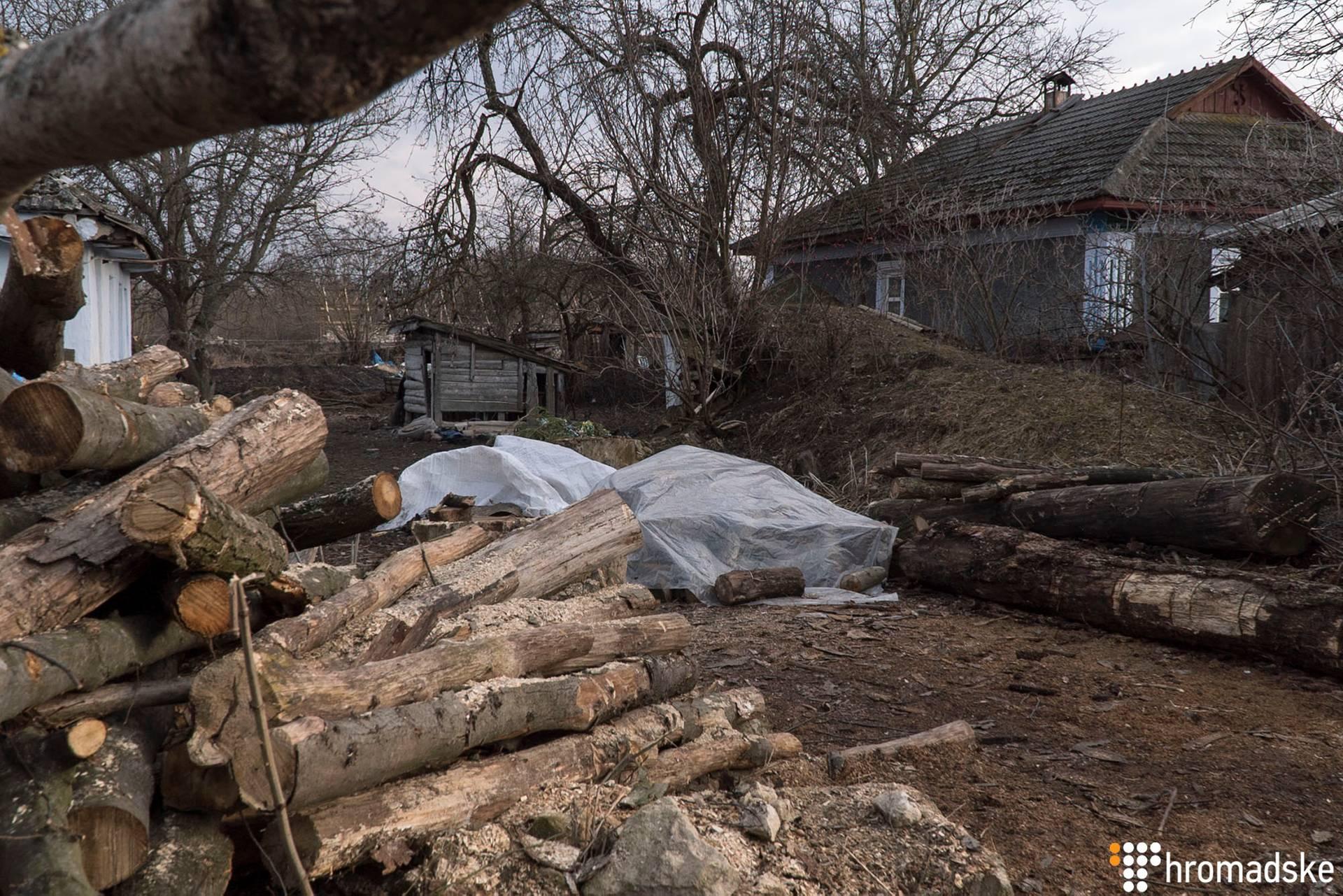 Місцеві жителі опалюють свої будинки переважно дровами, Котюжани, Вінницька область, 21 лютого 2019 року
