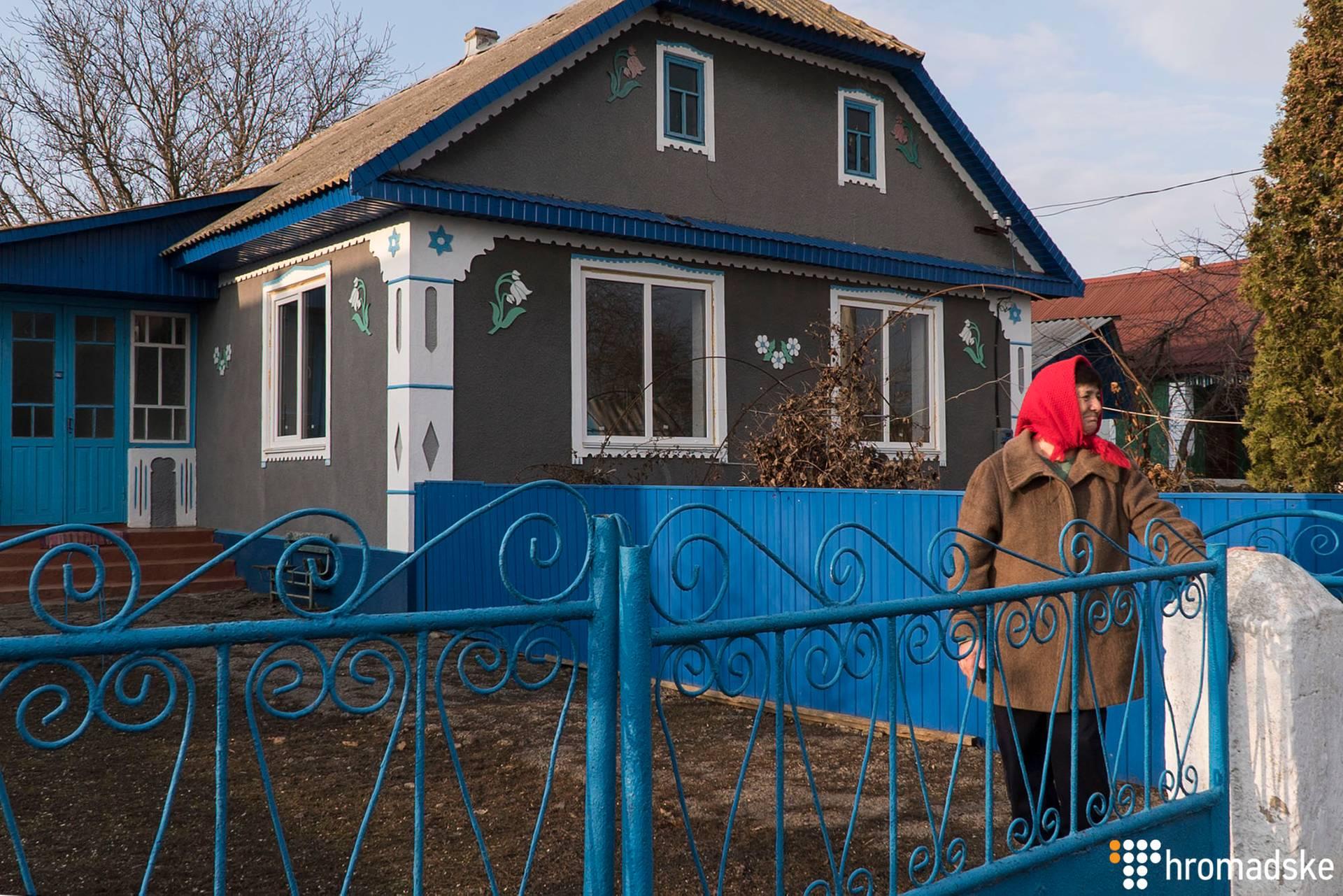 Ніна (на фото) минулого року отримала 4 тисячі 200 гривень субсидії, усі витратила на дрова, Котюжани, Вінницька область, 21 лютого 2019 року