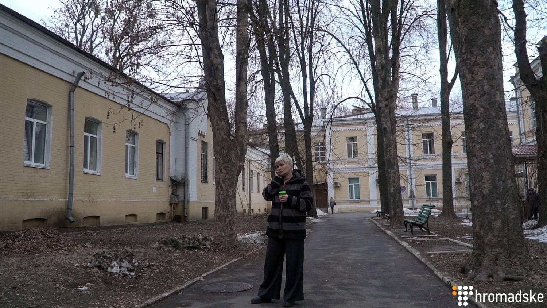 Волонтерка Леся Литвинова, Київ, 22 лютого 2019 року