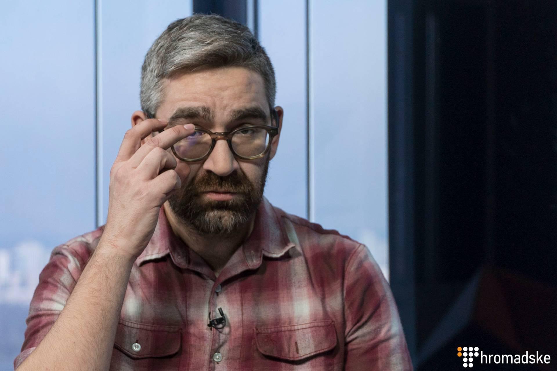 Американський журналіст Симон Островський в студії Громадського, Київ, 3 березня 2019 року