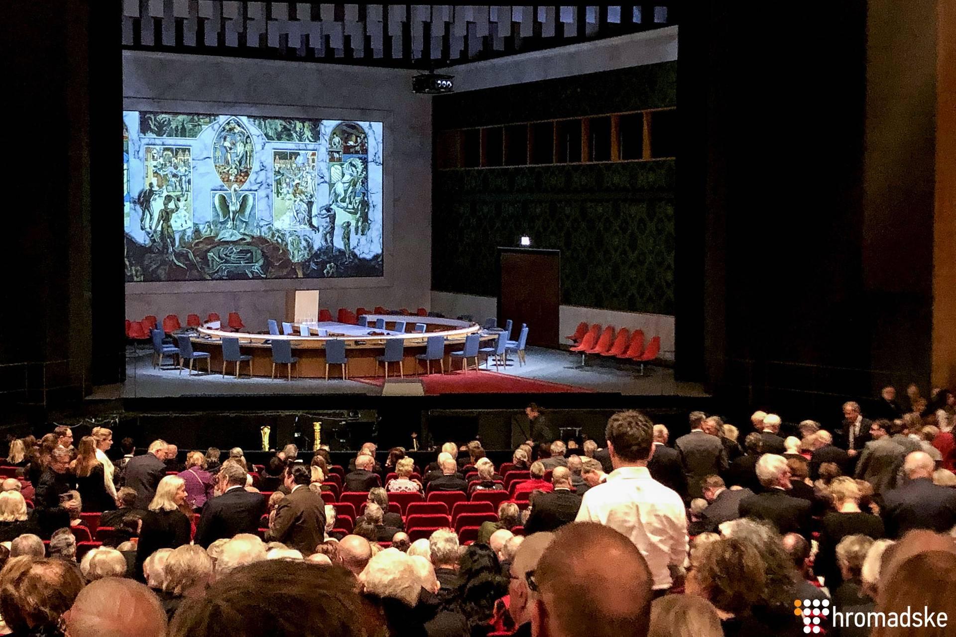 Прем'єра опери Верді «Набукко» у постановці режисера Кирила Серебренникова у Гамбурзі, Німеччина, 10 березня 2019 року