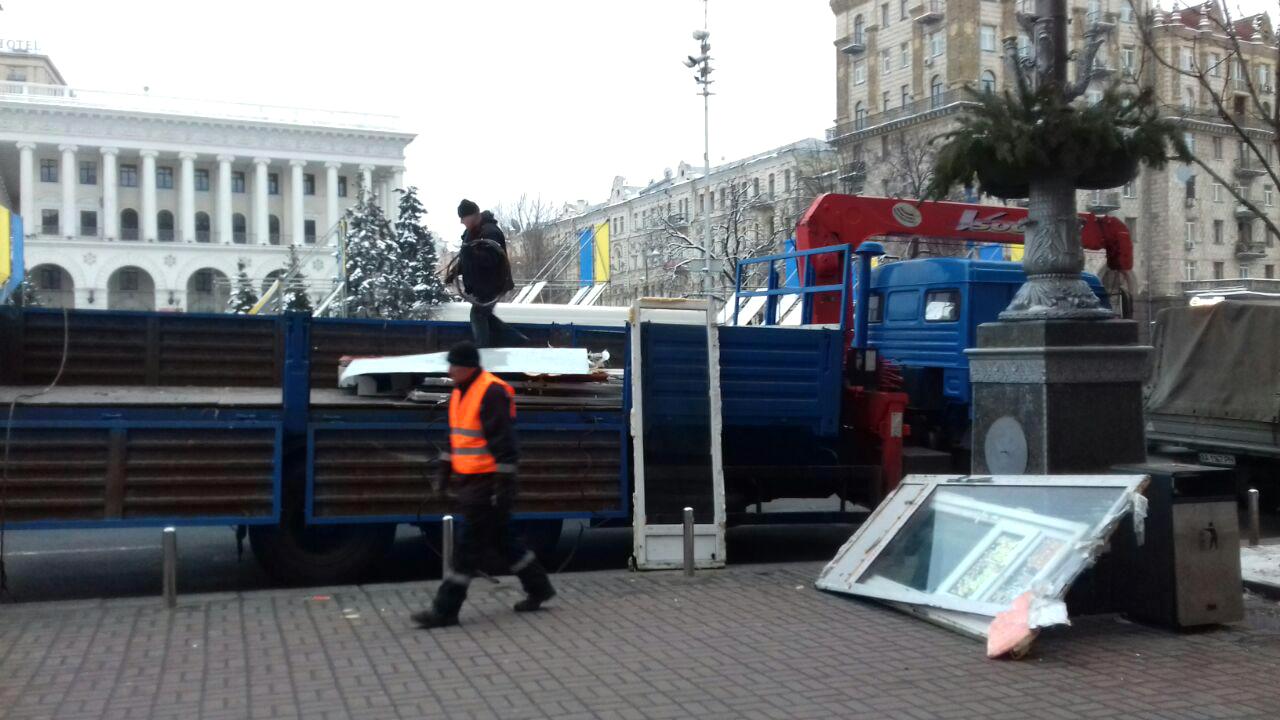 Незаконність розміщення МАФів у підземці на Майдані ...