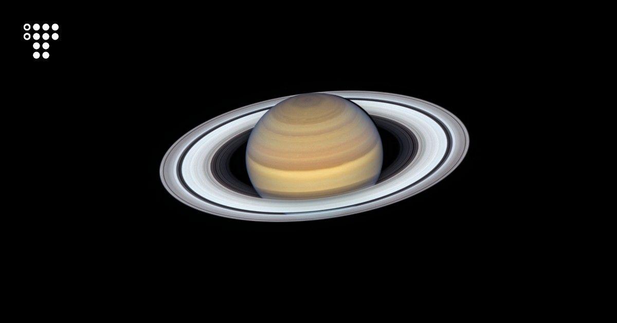 Телескоп Hubble зробив новий знімок Сатурна